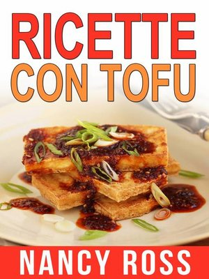 cover image of Ricette col tofu