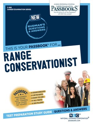 cover image of Range Conservationist