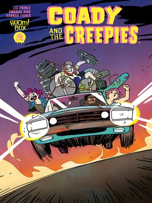 cover image of Coady & the Creepies, Issue 2
