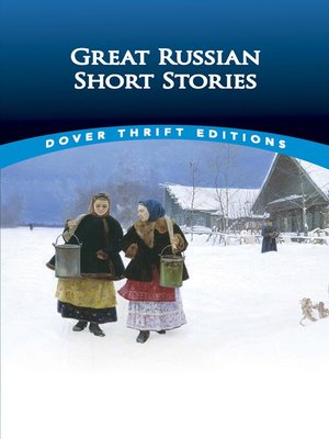 cover image of Great Russian Short Stories