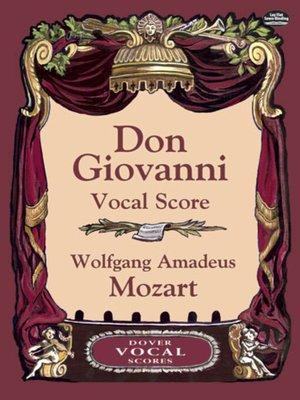 cover image of Don Giovanni Vocal Score