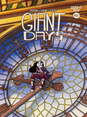 cover image of Giant Days (2015), Issue 52