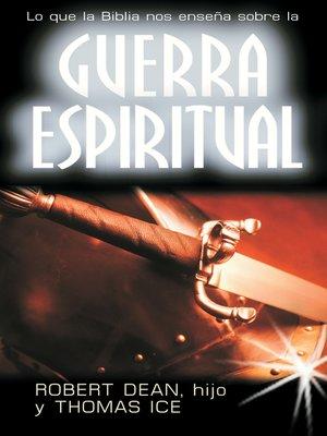 cover image of Guerra espiritual
