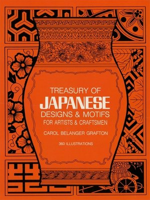 cover image of Treasury of Japanese Designs and Motifs for Artists and Craftsmen
