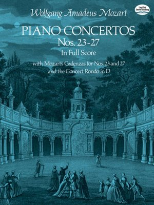 cover image of Piano Concertos Nos. 23-27 in Full Score