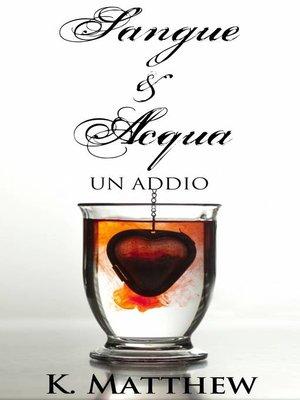 cover image of Un addio