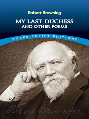 cover image of My Last Duchess and Other Poems
