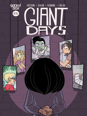 cover image of Giant Days (2015), Issue 35