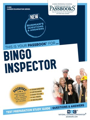cover image of Bingo Inspector