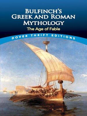 cover image of Bulfinch's Greek and Roman Mythology