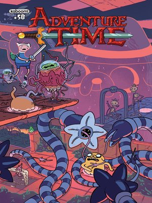 cover image of Adventure Time (2012), Issue 58