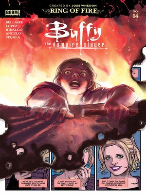cover image of Buffy the Vampire Slayer #14