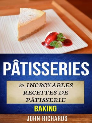 cover image of Pâtisseries
