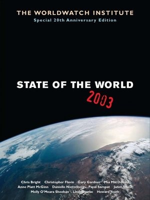cover image of State of the World 2003