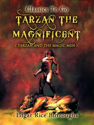cover image of Tarzan the Magnificent