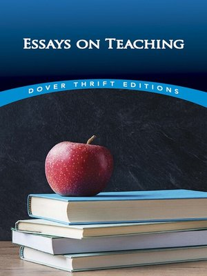 cover image of Essays on Teaching