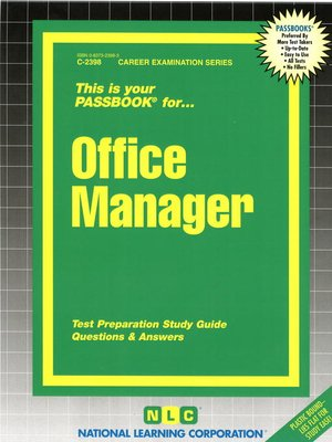 cover image of Office Manager