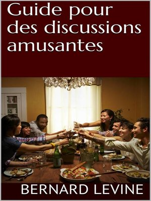 cover image of Guide pour des discussions amusantes
