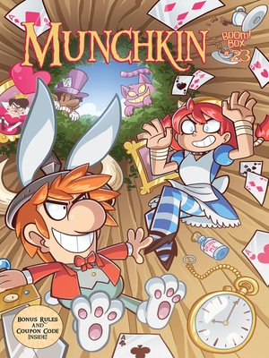 cover image of Munchkin (2015), Issue 23
