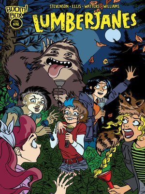 cover image of Lumberjanes (2014), Issue 9