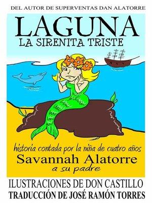 cover image of Laguna la sirenita triste