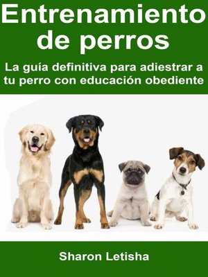 cover image of Entrenamiento de perros
