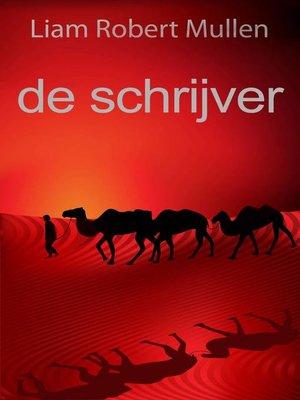 cover image of de schrijver