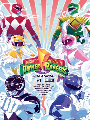 cover image of Mighty Morphin Power Rangers 2016 Annual