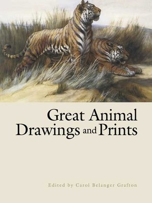 cover image of Great Animal Drawings and Prints