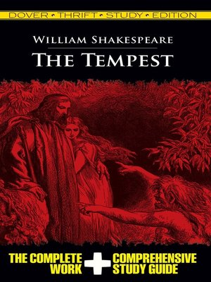 cover image of The Tempest Thrift Study Edition