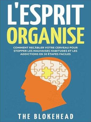 cover image of L'Esprit Organisé