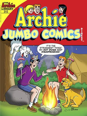 cover image of Archie Double Digest #310