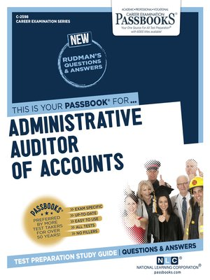 cover image of Administrative Auditor of Accounts