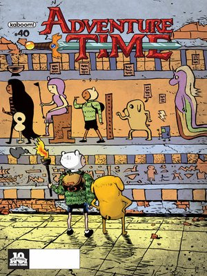 cover image of Adventure Time #40