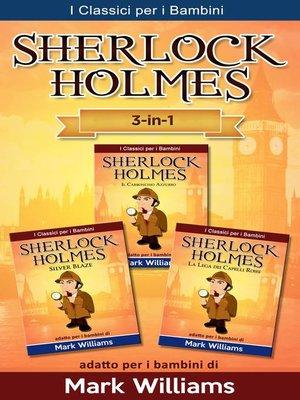 cover image of Sherlock Holmes per bambini