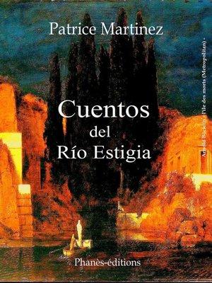 cover image of Cuentos del río Estigia