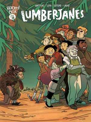 cover image of Lumberjanes, Issue 38