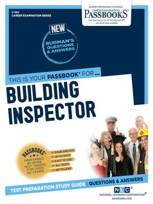 cover image of Building Inspector