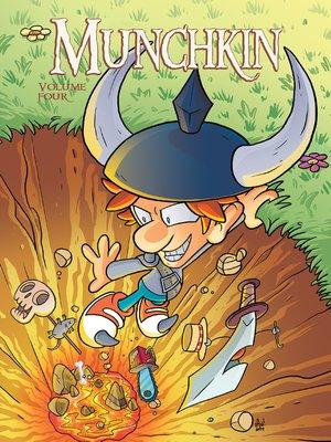 cover image of Munchkin (2015), Volume 4
