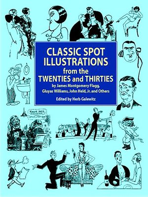 cover image of Classic Spot Illustrations from the Twenties and Thirties
