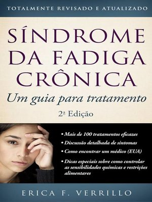 cover image of Síndrome Da Fadiga Crônica