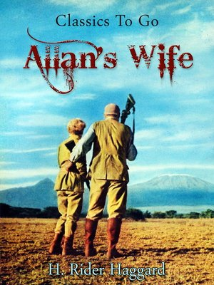 cover image of Allan's Wife