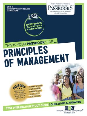 Principles of Management by Dr B S Moshal · OverDrive