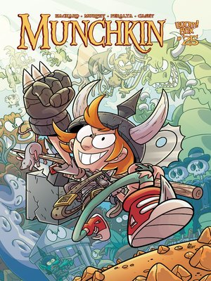 cover image of Munchkin (2015), Issue 25
