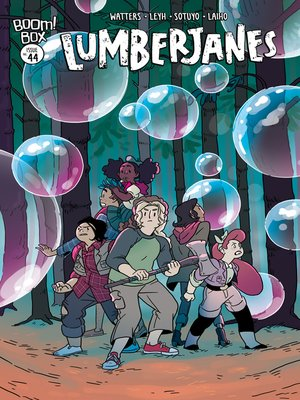 cover image of Lumberjanes, Issue 44