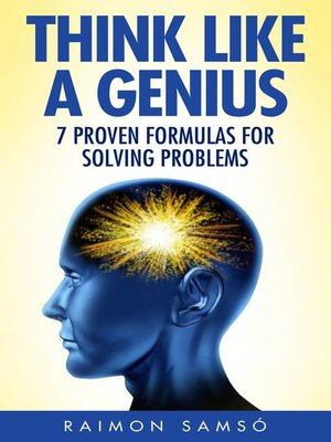 cover image of Think Like a Genius