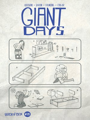 cover image of Giant Days (2015), Issue 20
