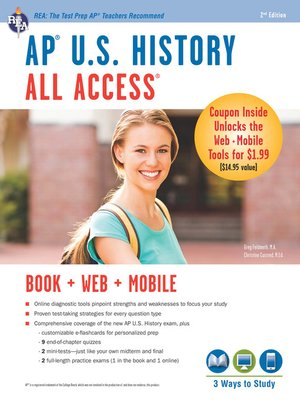 cover image of AP U.S. History All Access Book + Online + Mobile