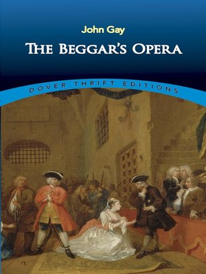 cover image of The Beggar's Opera