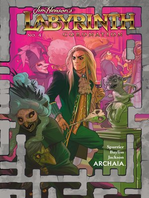 cover image of Labyrinth: Coronation (2018), Issue 4
